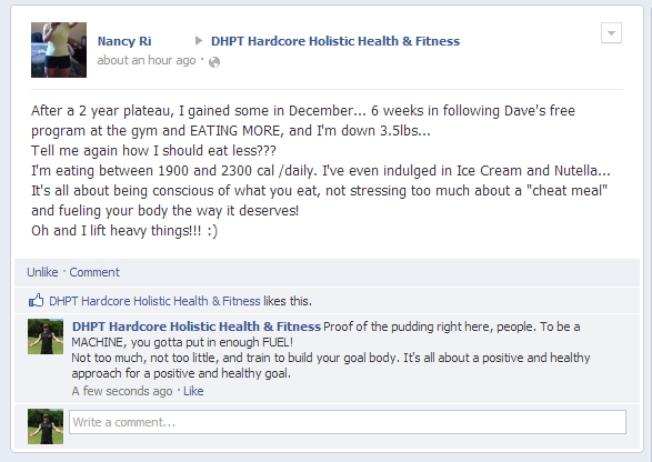 Free Weight Loss Program Testimonial